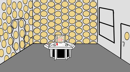 flash cartoon 1981 tardis console room