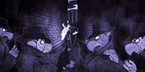 Auslandburg Confrontation