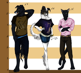 [C] Three bundles of fur