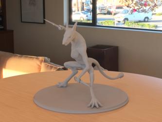 Sergal Figurine - 2