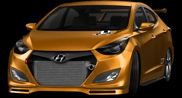 Hyundai elantra shot 2