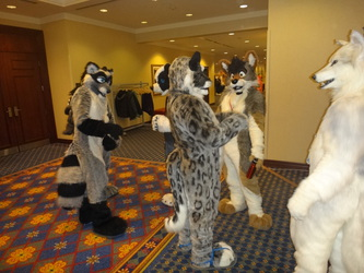 eavesdroppin' on some suiters