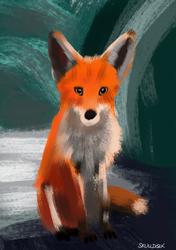 4/3/21 Speedpaint Fox