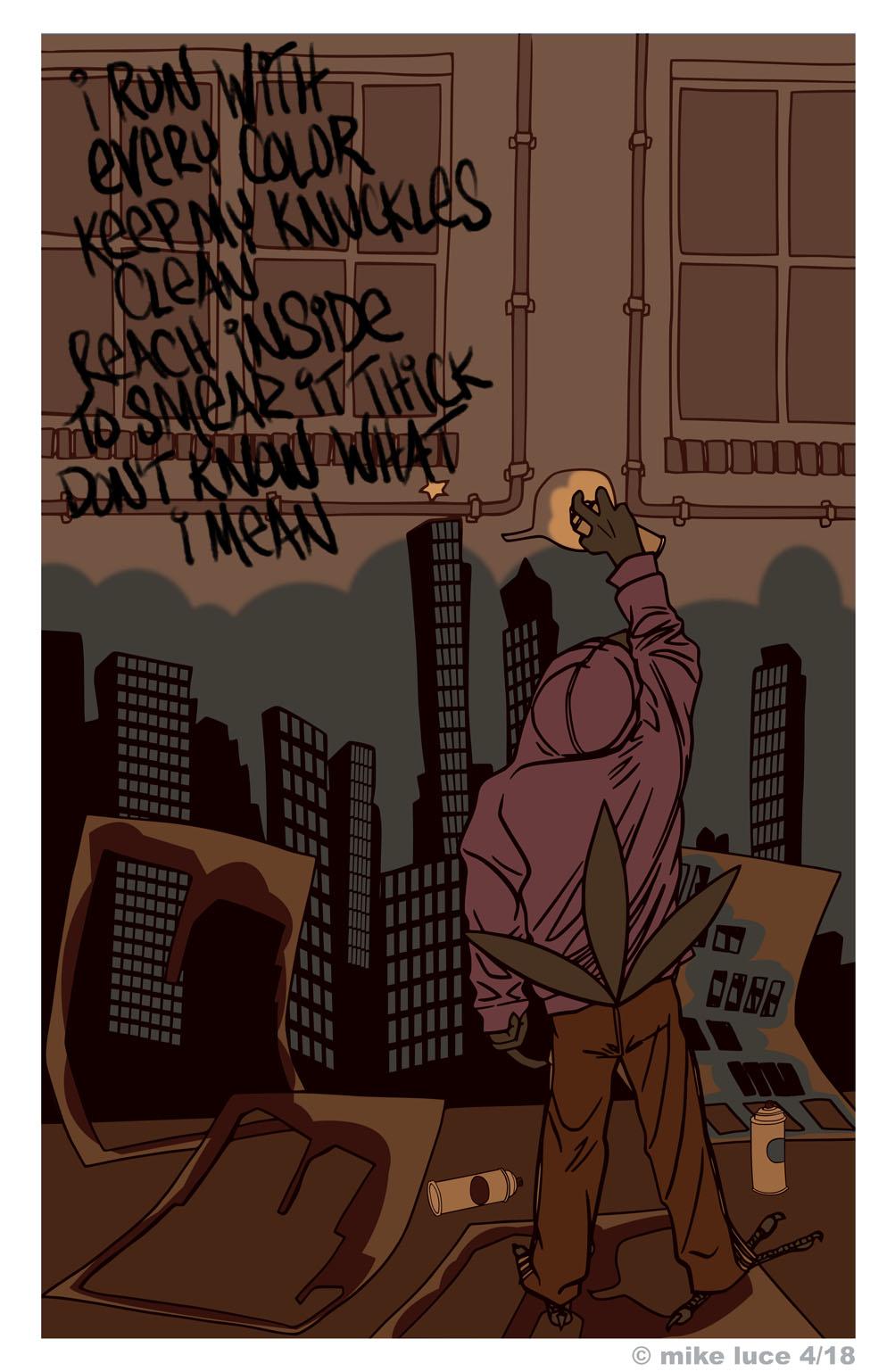 Most recent image: City Silent pg 36.