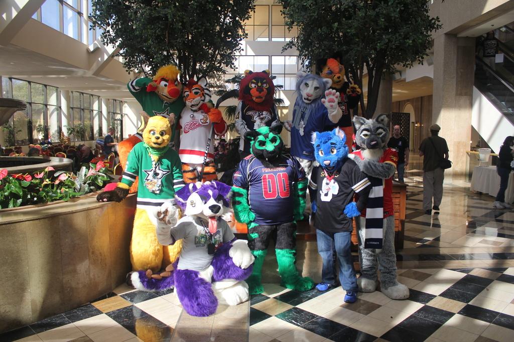 Texas Furry Fiesta 2016 - Sports jersey photo shoot