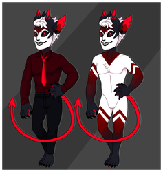 Day 18 - Demon / Guest Artist Maskcatz [OPEN]