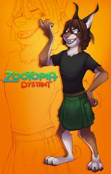 Dystant - Zootopian Portrait (Anthrocon 2016)