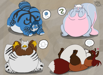 Fat little chibis part 4