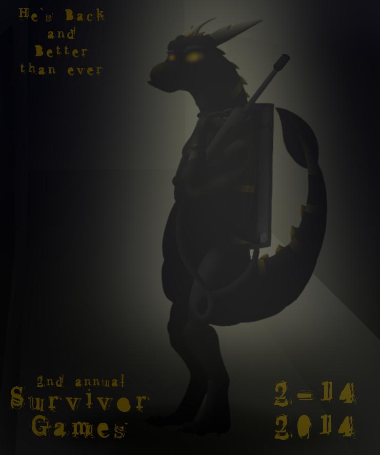 Most recent image: Survivor Games 2014 Poster