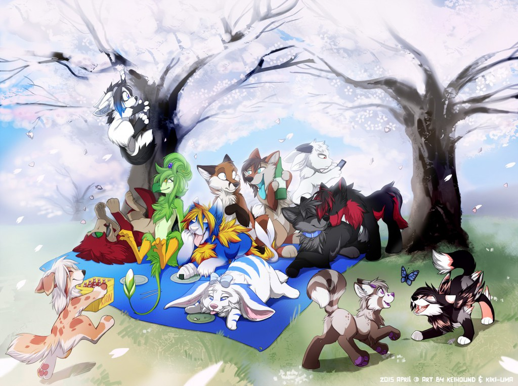 Most recent image: cutest picnic, ever