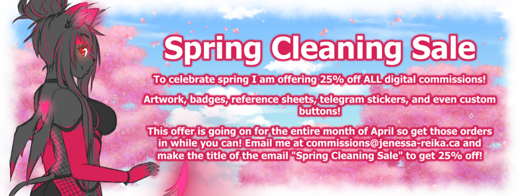 Most recent image: Spring Cleaning Sale