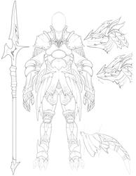 Dragoon Armor Set - Mateus (Gavvar's Armory)