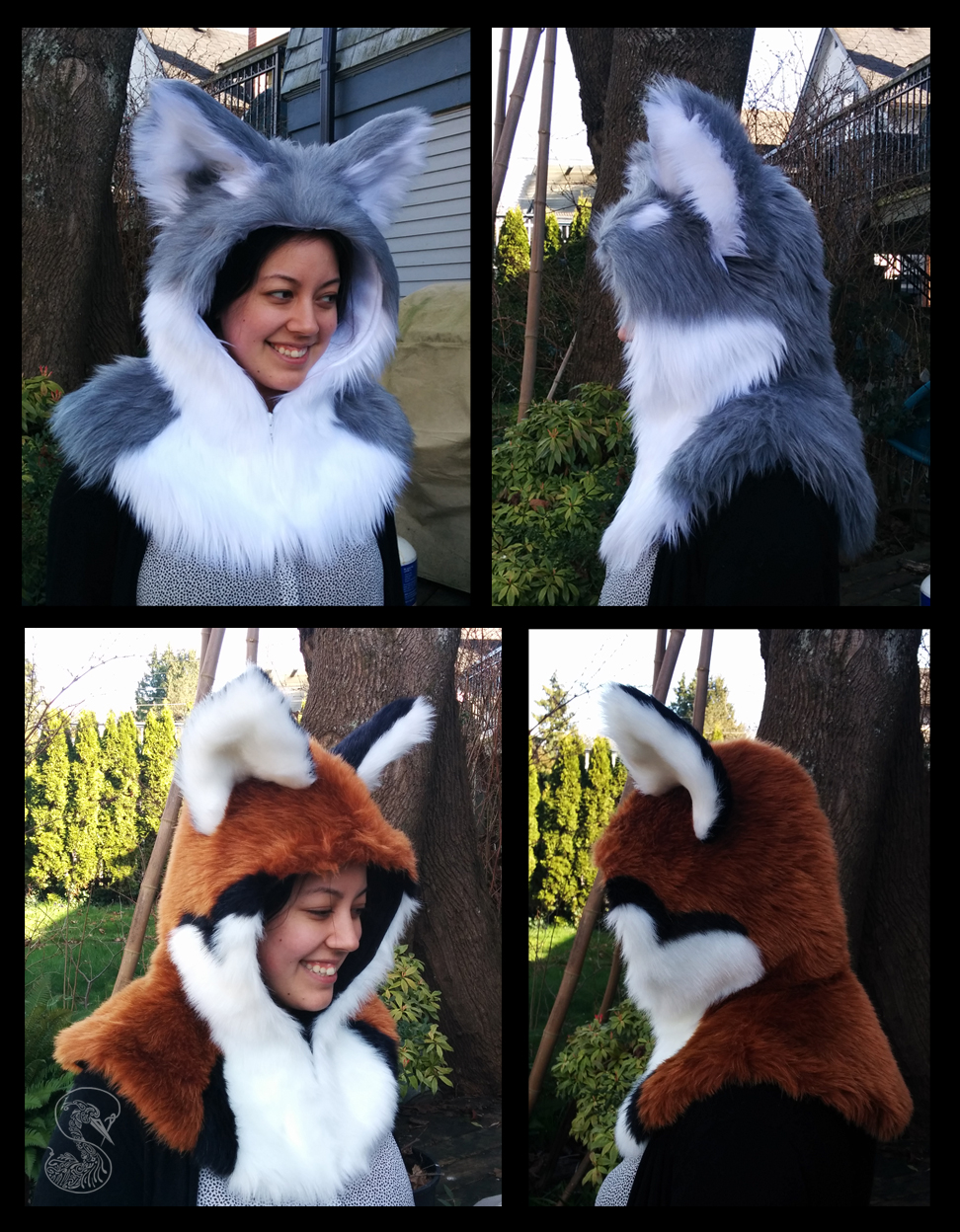Fox Hooded Capelete - FOR SALE
