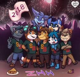 ZHH Anniversary + Happy New Year!