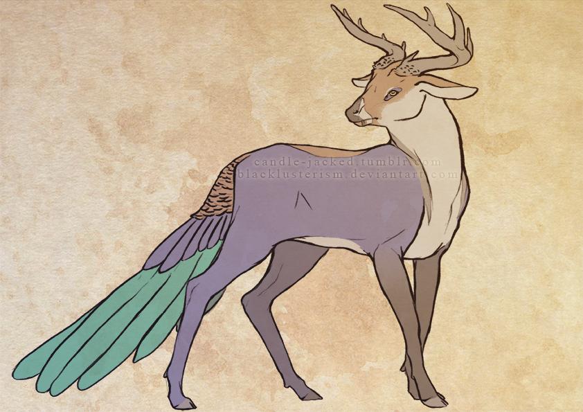 Peacock Deer