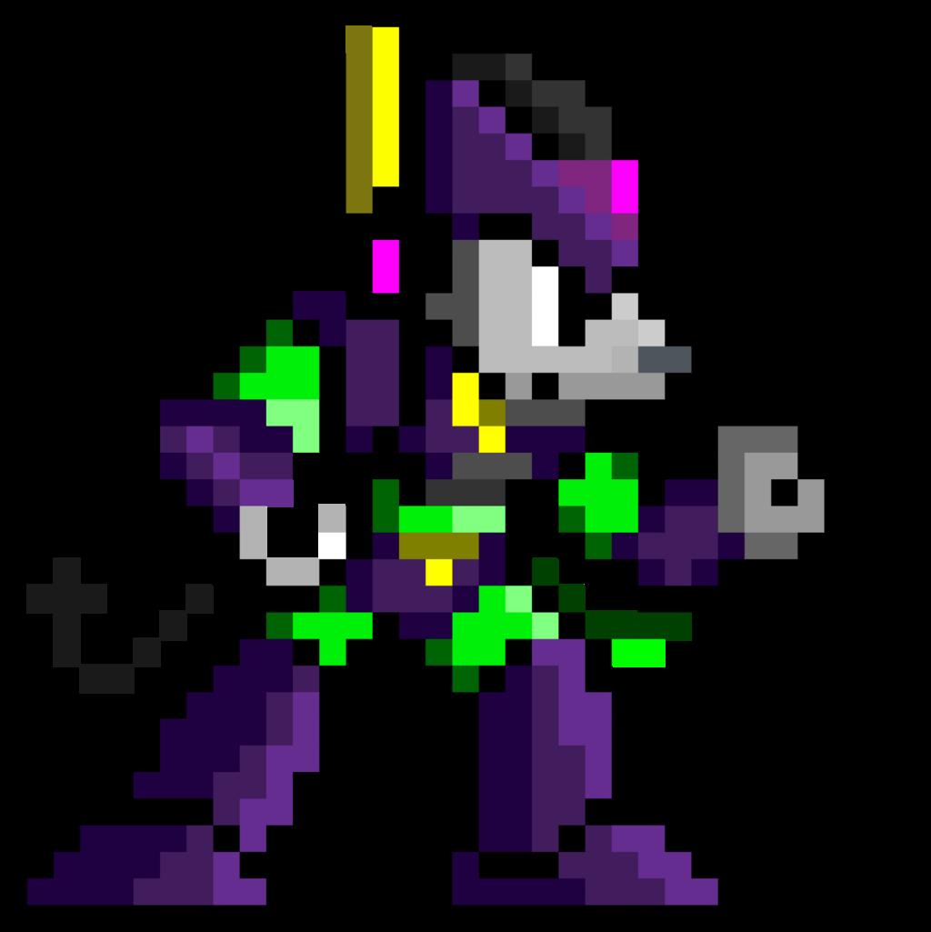 Pixel Amethyst 2