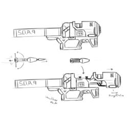SOR-9 Rocket Launcher [Echo 6]