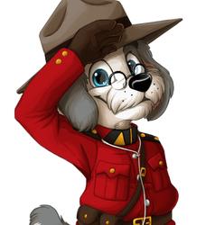 Mountie Barnaby by 0okamiseishin