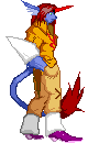 Really old pixel art