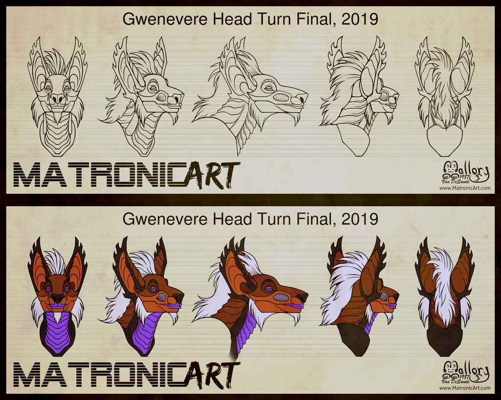 Most recent image: SONAS - Gwenevere Head Turn