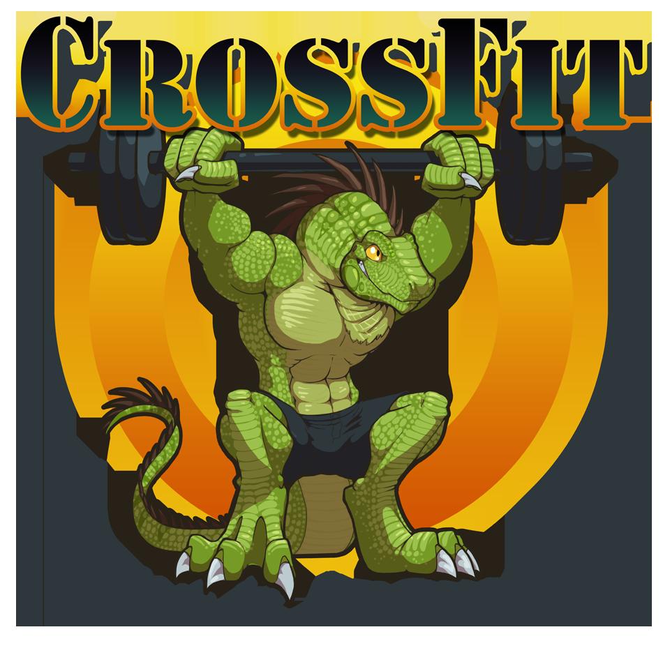 CrossFit gym logo