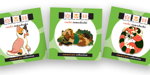 Sushi Tomodachi: New Designs!