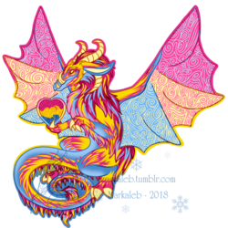 Pan Pride Dragon