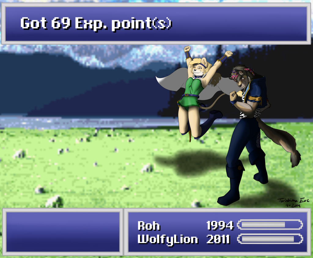 Most recent image: FF6 Victory!