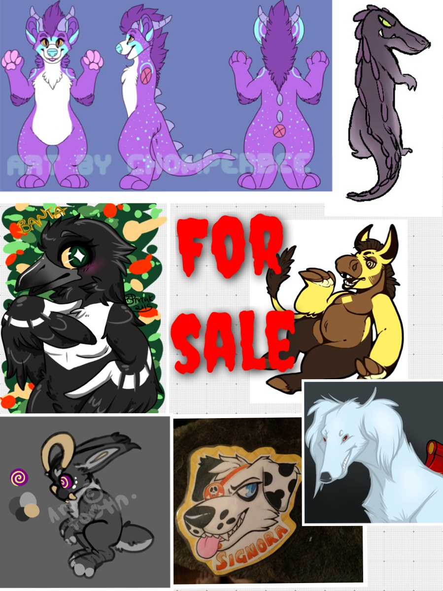 LARGE CHARACTER SALE (7/7 open)