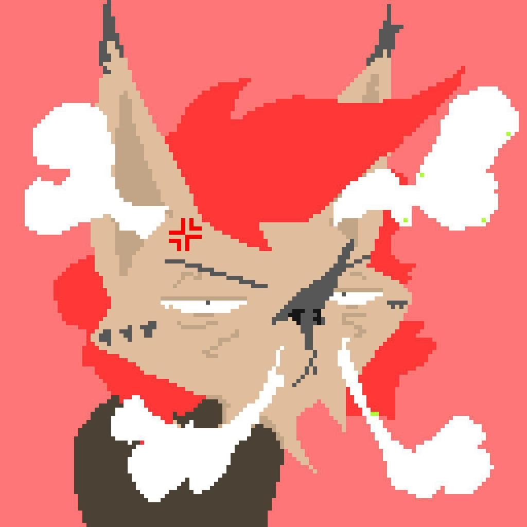 Pixel Art : Hmpf!