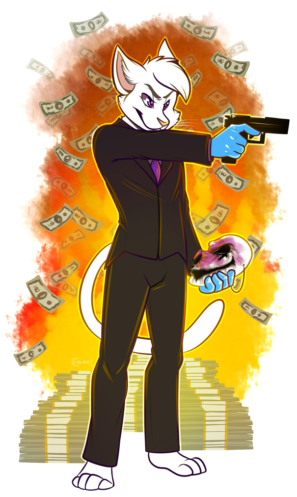 [commission] Gimme your meow-ney!