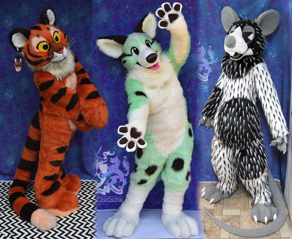 Most recent image: Fursuit Commissions OPEN!