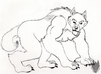 Inktober/ 30 Days of Werewolves #22