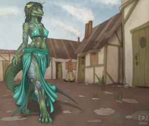 [comm] Warforge Assisted Lizardfolk