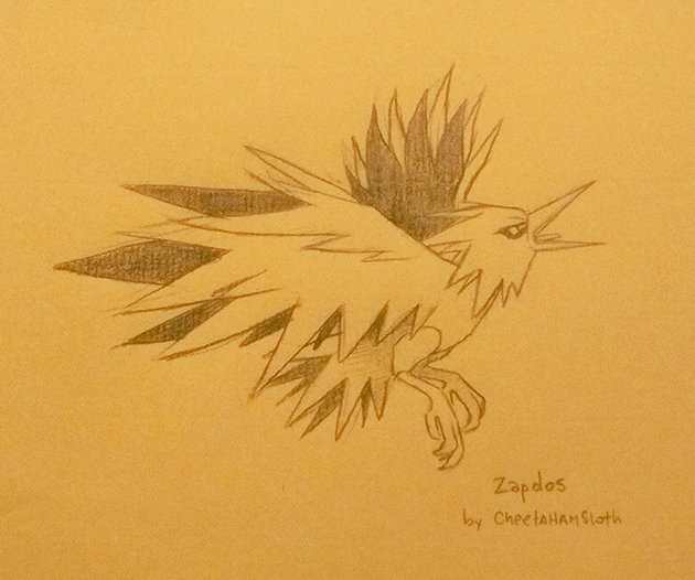 Most recent image: Zapdos
