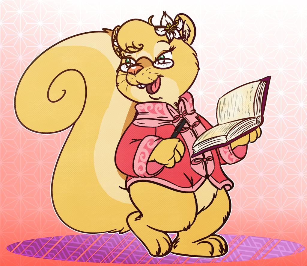 Squirrel scholar... sorta