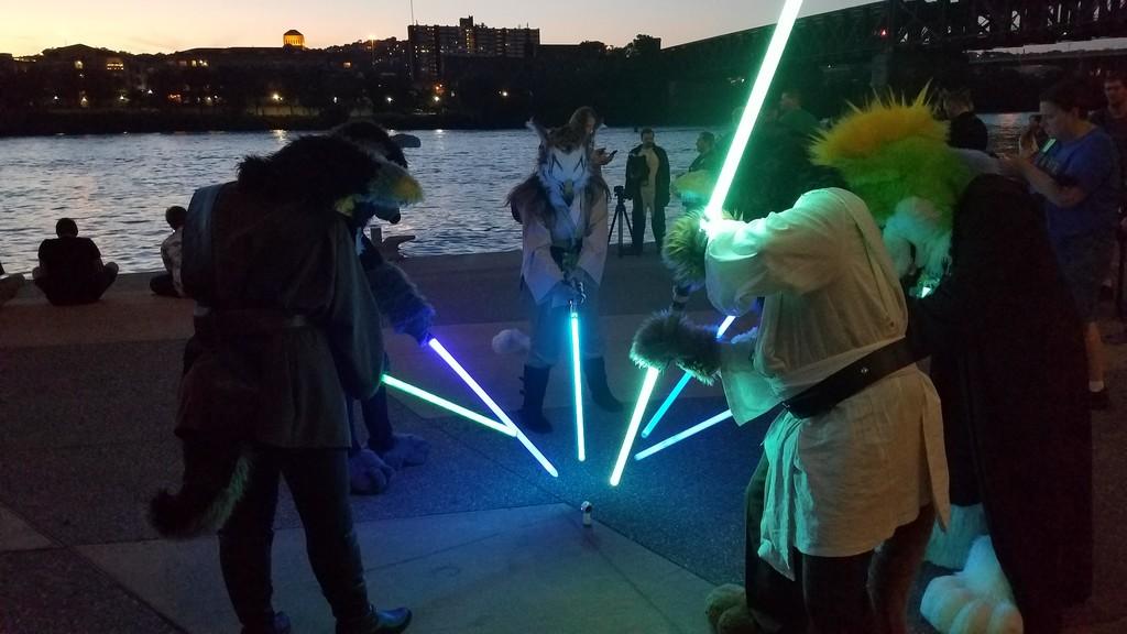 AC 2017: Lightsabers