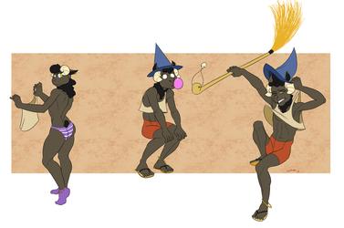 Sheepie Witch-Boy