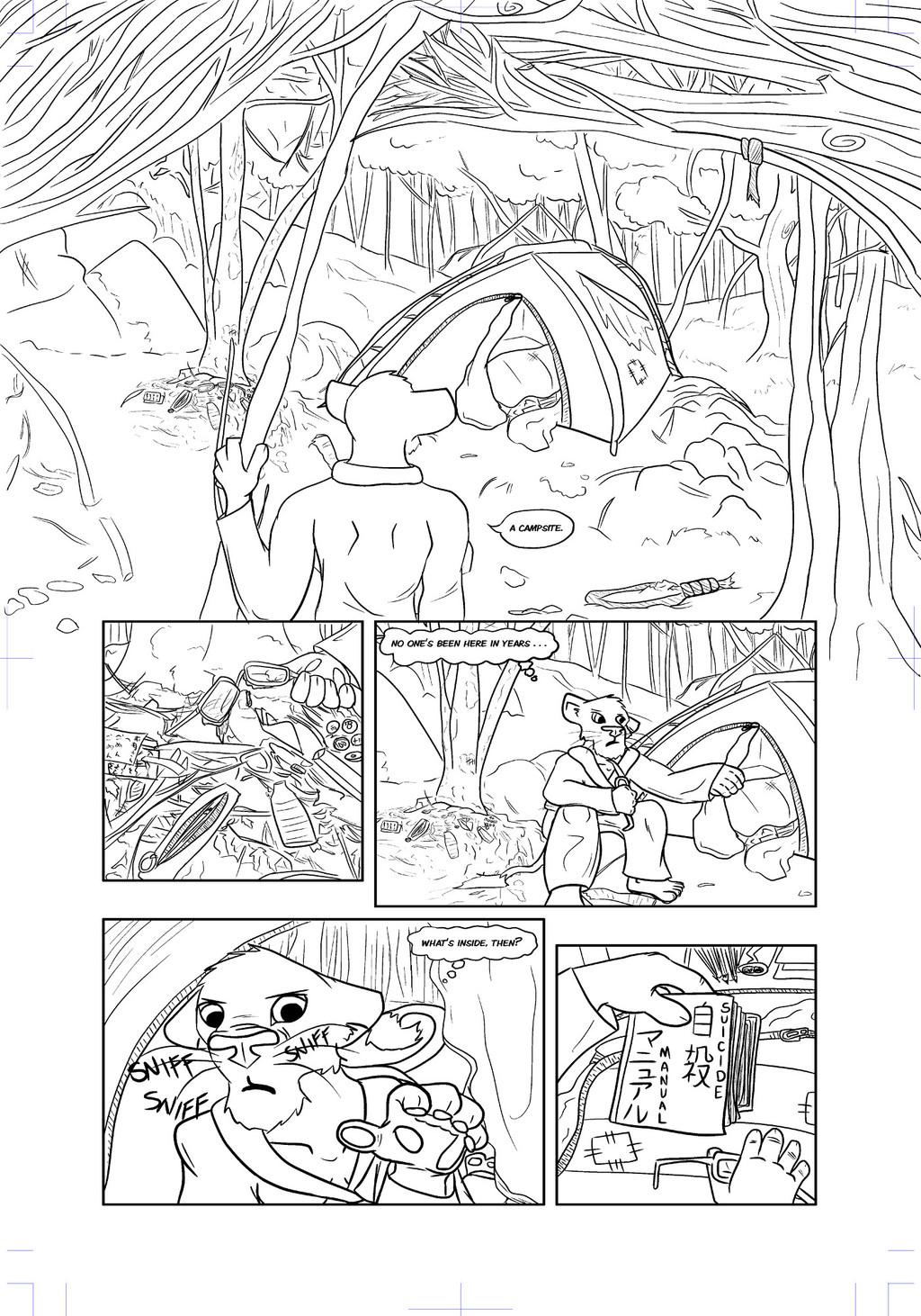 Comic: Sea of Trees, page 5