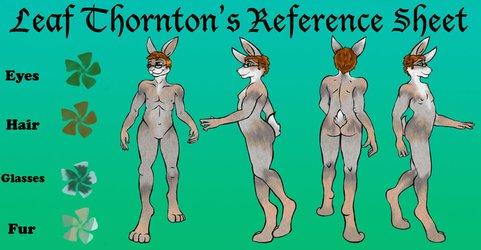 Leaf Thornton Reference Sheet
