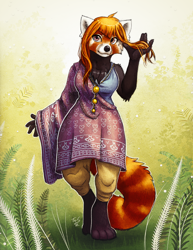 August Red Panda