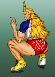 Lady All Might