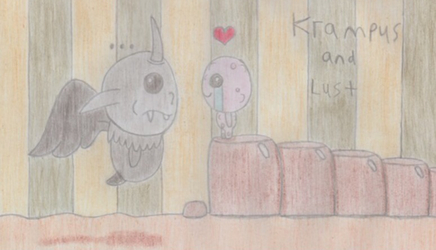 The Binding Of Isaac - Krampus and Lust