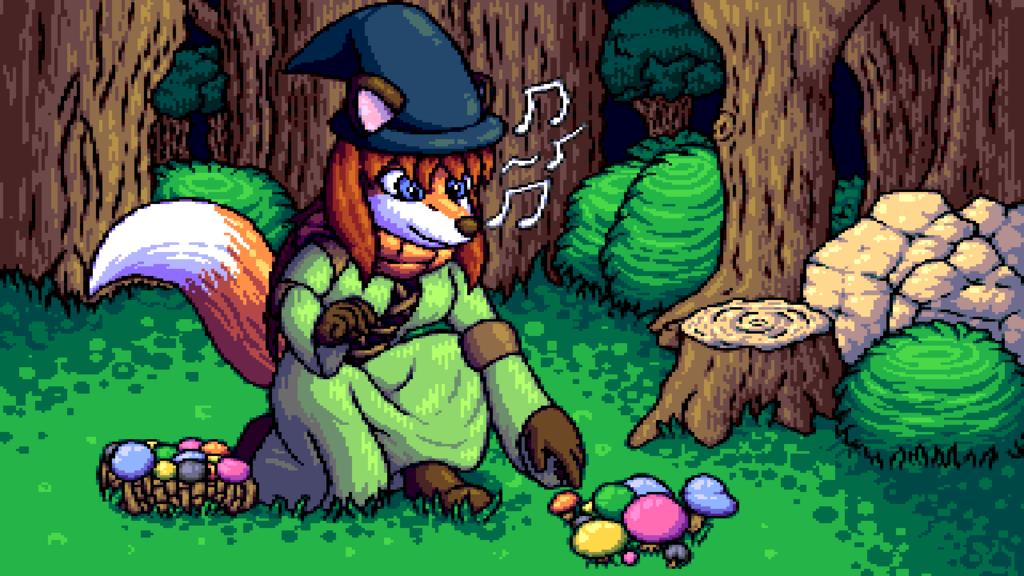 Gathering Mushrooms