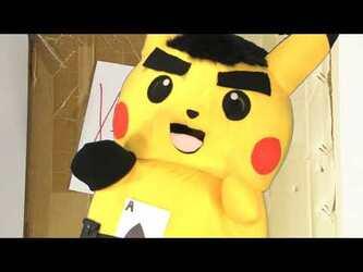Mascot Pikachu Fursuiting: X-TREEEME!!! BOX Infomercial (With SamsonTheCatFox)