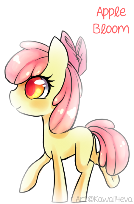 Sweet lil' Apple Bloom