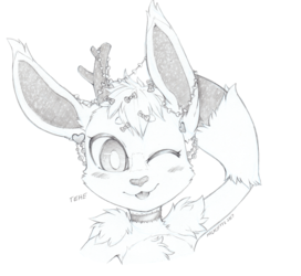 [CM] Bust Sketch Opal