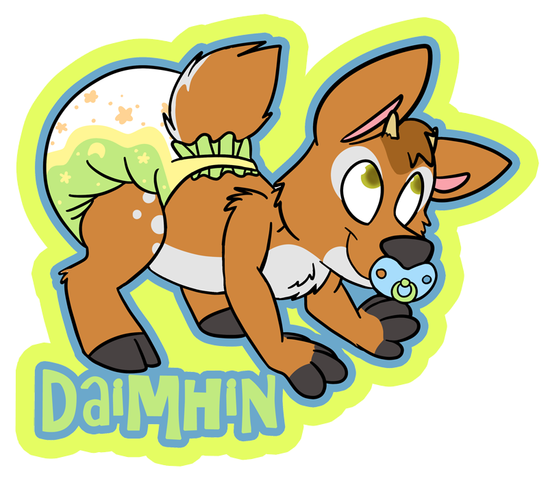 Daimhin badge