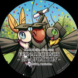 2019 Furnal Equinox Promo Button Art