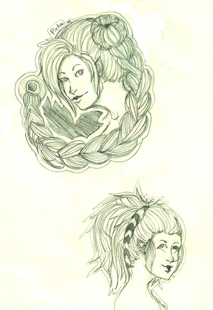 Pietra and Tsurara